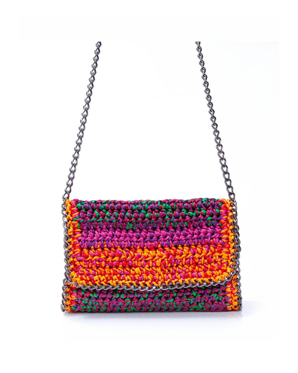 Bolsa Mira Multicolor Catarina Mina bolsas artesanais brasileiras