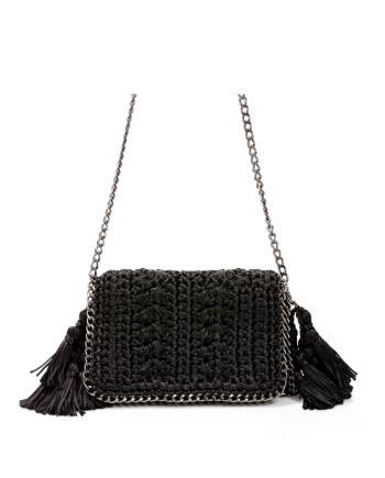 Bolsa Catarina Mina Mira cor preto