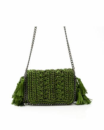 Bolsa Catarina Mina Mira cor verde