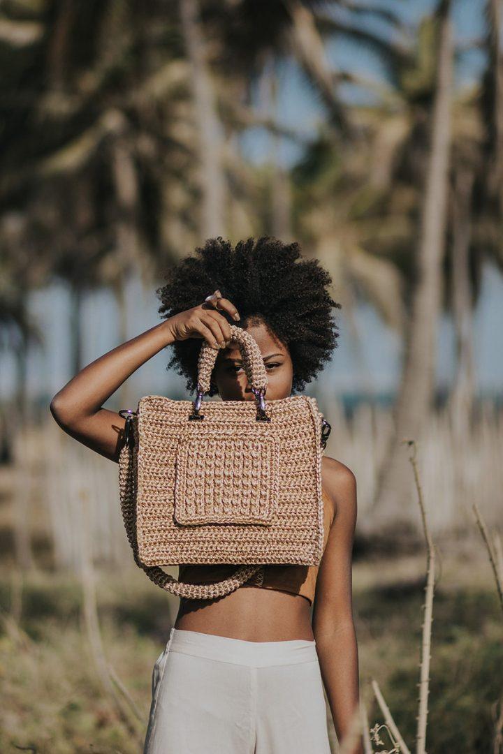 Bolsa Sal Catarina Mina bolsas artesanais brasileiras