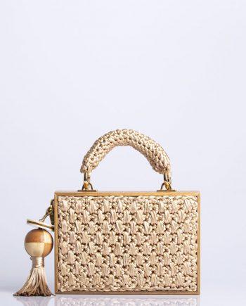 Bolsa Catarina Mina Handbag Madeira Areia