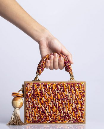 Bolsa Catarina Mina Handbag Madeira Preta