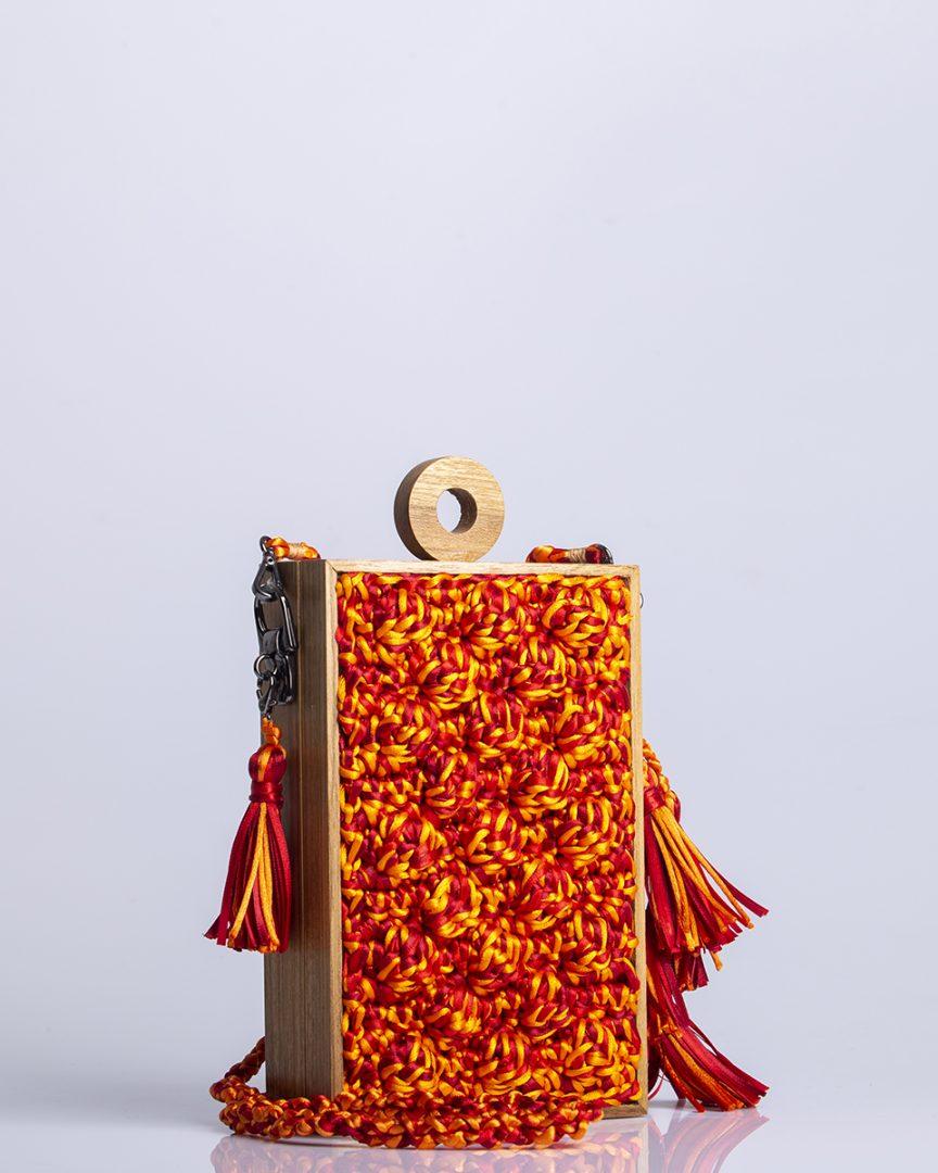 Bolsa Catarina Mina Vertical Revela Multicolor Orangine