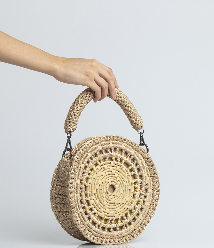Bolsa Croche e Palha Catarina Mina New Tambor